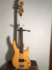 Vintage V80AB 'Golden Amber' Colour Bass Guitar VI NT 80 18