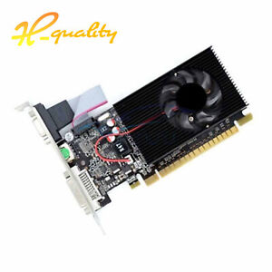 Graphics Card 64bit 2GB GeForce GT730 DDR3 DVI VGA HDMI PCI-E Video Card