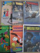 WHITMAN (GOLD KEY) :BUNDLE of 6 DIFFERENT CLASSIC issues from the 1970s.SEE PICS