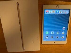 Apple iPad mini 3 128GB, Wi-Fi, 7.9in - Gold  **Boxed** **Pristine Condition**