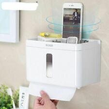Waterproof Toilet Paper Holder Wall Mounted Storage Box Sanitary Tissue Racks