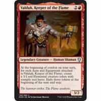 MTG Dominaria - Valduk, Keeper of the Flame - NM Card x 4 Playset