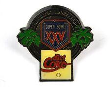COCA-COLA COKE USA CHIUSURA SPILLA - American GIOCO DEL CALCIO NFL SUPER ciotola