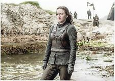 GEMMA WHELAN - Signed 12x8 Photograph - TV - GAME OF THRONES