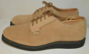 Red Wing Japanese Postman Oxford #9103 Suede Leather USA 8D EU 41 Sand Mojave