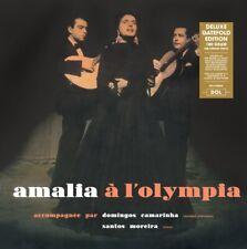 AMALIA RODRIGUES: AMALIA A L'OLYMPIA - DELUXE GATEFOLD VINYL LP - BRAND NEW