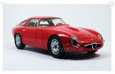 AUTOart 1/18 Alfa Romeo TZ 1963 Museo Storico Diecast Model Car TOYS Gifts Red
