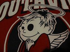 SOUTHVIEW SAINTS School Mascot Angel Halo Wings Red T Shirt Small FREE Shipping