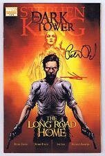 Dark Tower Long Road Home Signed w/COA Jae Lee Peter David 2008 VF+