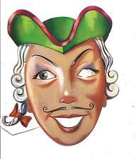 Maschera di CARNEVALE  (  B 06 ).......................anni '60