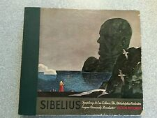 Sibelious Symphony No 1 in E Minor 4 78 LPs Vintage Victor - RCA