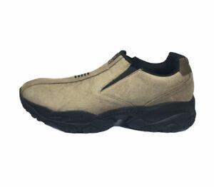 Men's Sketchers Air-cooled Memory Foam Biege Shoes Size 11 NWOB SN 52702