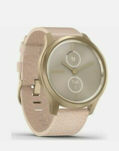 Garmin Vivomove Style Hybrid Smart Watch Tracker - Blush Pink/Light Gold  Currys