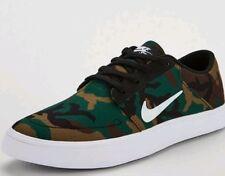 6118bb73e1de17 New listingNike SB Portmore Canvas Camouflage Men s Trainers Size 10 Bnib