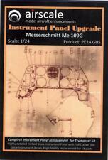 Airscale Decals 1/24 MESSERSCHMITT Me-109G INSTRUMENT PANEL UPGRADE PE & Decals