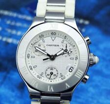 Cartier Watch Ladies Cartier Must de 21 Chronoscaph Chronograph Watch Beautiful