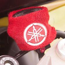 Large Red Yamaha Brake & Clutch Reservoir Sock Cover Motorcycle Dirt Bike YZF