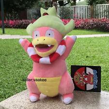 "Slowking Pokemon Center Go Plush Toy Nintendo Game Stuffed Animal Soft Doll 9.5"""