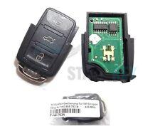 VW Seat Skoda Funkschlüssel Golf Passat... usw 434 MHz Key Chiave cle 1J0959753N