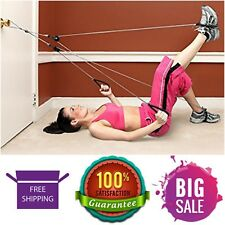 Home Exercise Equipment Door Knob Exerciser Resistance Rope Workout Bands