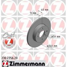 ZIMMERMANN Bremsbelagsatz 230.2356.20
