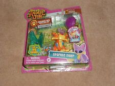 NEW, ANIMAL JAM SPARKLE TIGER AND LIGHT UP RING SET + ONLINE GAME CODE