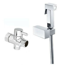 Brass Square Bidet Hand Held Shower Head Douche Set With 7/8
