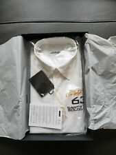 Authentic LIMITED  Lamborgini 63 Pilota Ufficiale black shirt size 40 WHITE
