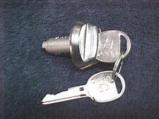NOS AMC Jeep CJ CJ5 CJ7 CJ8 Chrome Glove Lock Cylinder With Keys 76 77 78 - 86