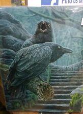 Photo sur toile plaque murale art gothique lisa parker les gardiens ravens 25x19 cm