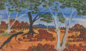 AUSTRALIAN  WATERCOLOUR PAINTING - NORTHERN TERRITORY - RICHARD WARD     P202