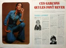 MARIE LAFORET => coupure de presse 2 pages 1973 / CLIPPING