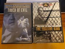 The Fugitive Kind (Marlon Brando) + Touch Of Evil ( Orson Wells) 2 Dvd Lot