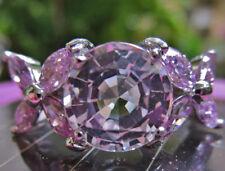 Ringe mit natürlichem Topas echten Edelsteinen für Damen
