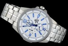Casio EF343D-7A Edifice Mens White 100M Stainless Steel Sports Dress Watch