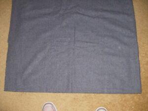 """Vintage Wool Plaid Fabric 1 3/4+ yd  62"""" wide purchased in UK unused"""