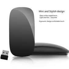Wireless Ultrathin Optical USB Multi+Touch Scroll Mouse For Apple Macbook Laptop