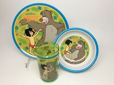 JUNGLE BOOK-3PC. MELAMINE PLATE, BOWL & CUP SET