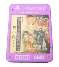 Haruka: Beyond the Stream of Time Hori Magic Gate PS2 Memory Card PlayStation 2