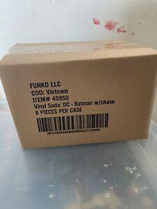 FUNKO VINYL SODA BATMAN BLUE COMMON FUNKO 10,000 LTD EDITION* Rare Sealed