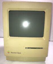 Apple Macintosh Classic Computer Model M0420 January 1991 Vintage Sold no work!