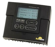 Dual Battery Solar Charge Controller Sunware FOX-360 (20A/12/24V) for RV's boat