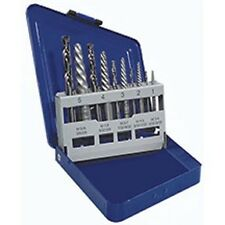 Irwin Hansen 10pc Spiral Extractor & Left Hand Cobalt Drill Bit Set, USA #11119