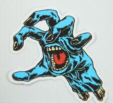 Lot of 2 Screaming Hand Vinyl Stickers, Santa Cruz, for Skateboard/Laptop/Guitar