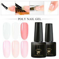 MTSSII 6ml Poly Builder Nail Gel Quick Building Finger Extension Soak Off Polish
