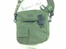 US Military Surplus Water Canteen Cover Carrier W/ Sling For 2 Quart Olive Drab