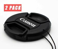 2pcs Canon 77mm Lens Cap Cover For 24-105mm 16-35mm 24-70mm 100-400mm 70-200mm