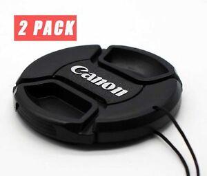 Canon 77mm Lens Cap Cover For 24-105mm 16-35mm 24-70mm 100-400mm Lens - (2Packs)
