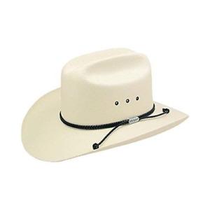 Carson Stetson Straw Cowboy Hat (7 3/4)