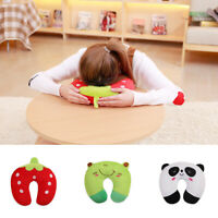 Kids Travel Neck Rest Pillow for Child Toddler Airplane Cars U-Shaped Cushion G1